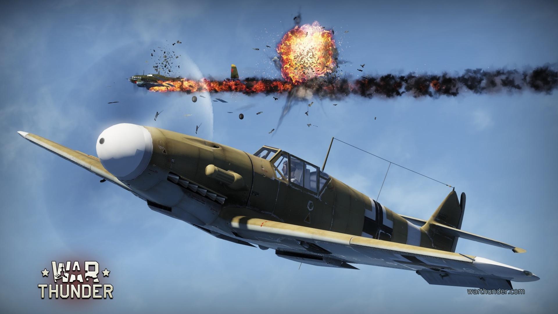 Trailer de War Thunder, juego de combate aéreo Gratis