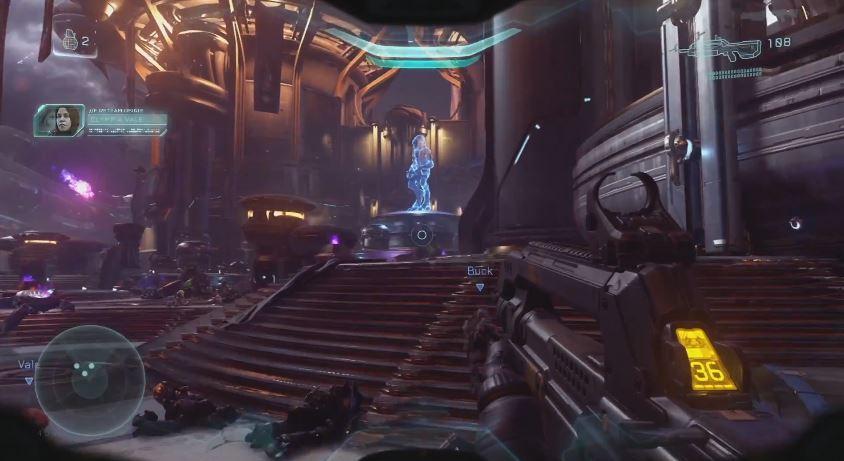 Gameplay de Campaña de Halo 5 E3 2015