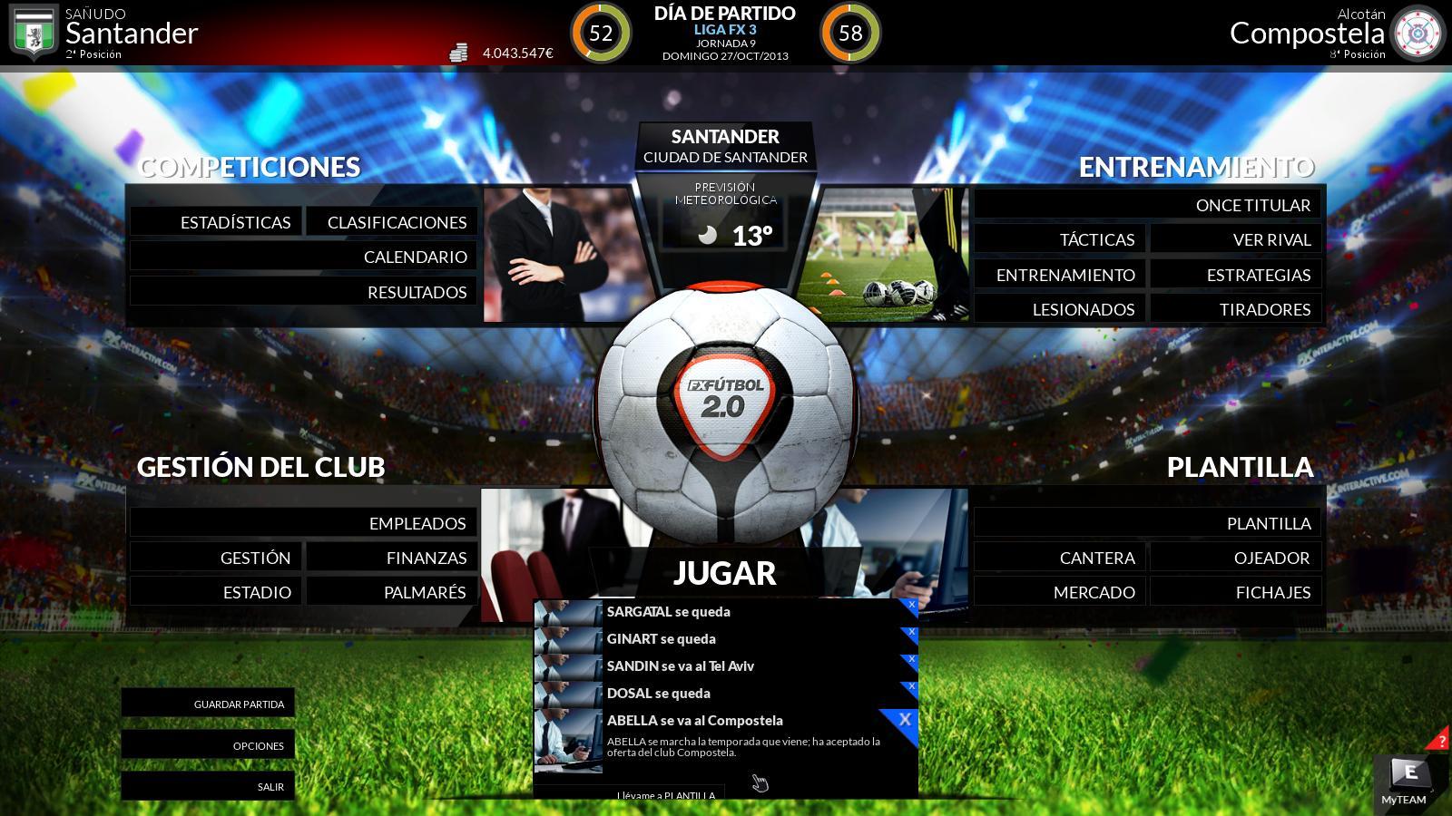 Trailer de FX Fútbol 2.0 para PC