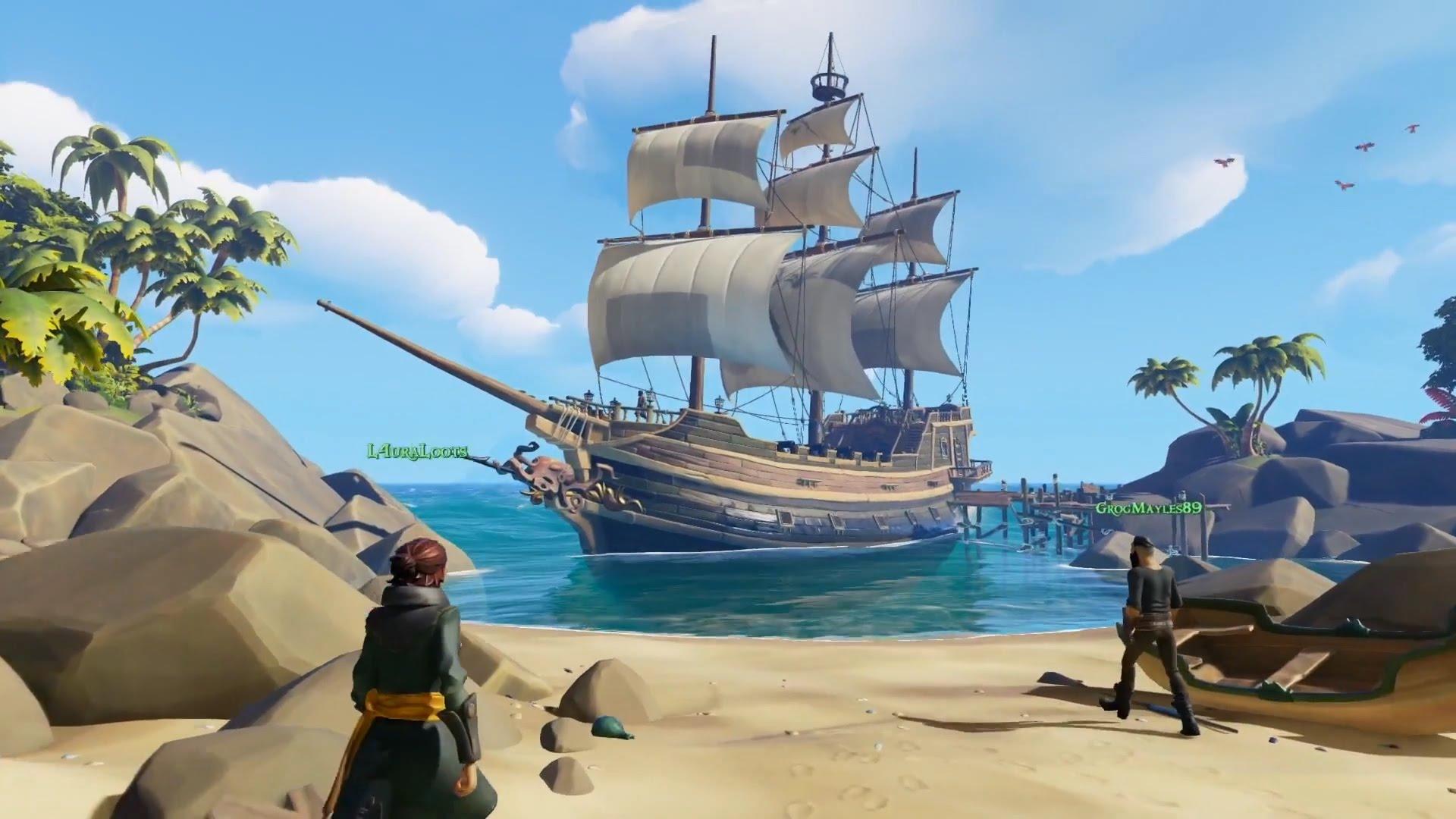 Trailer de Sea of Thieves en español, el juego de Piratas de Rare