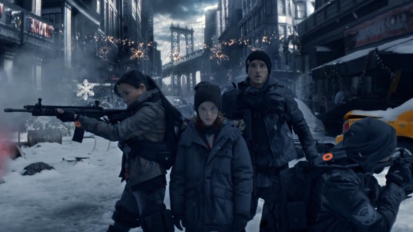 Trailer de Tom Clancy's The Division con actores reales