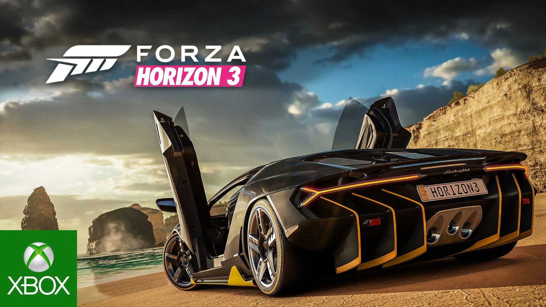 Trailer oficial de Forza Horizon 3
