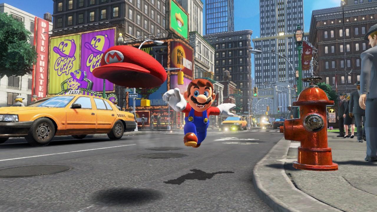 Trailer Gameplay de Super Mario Odyssey
