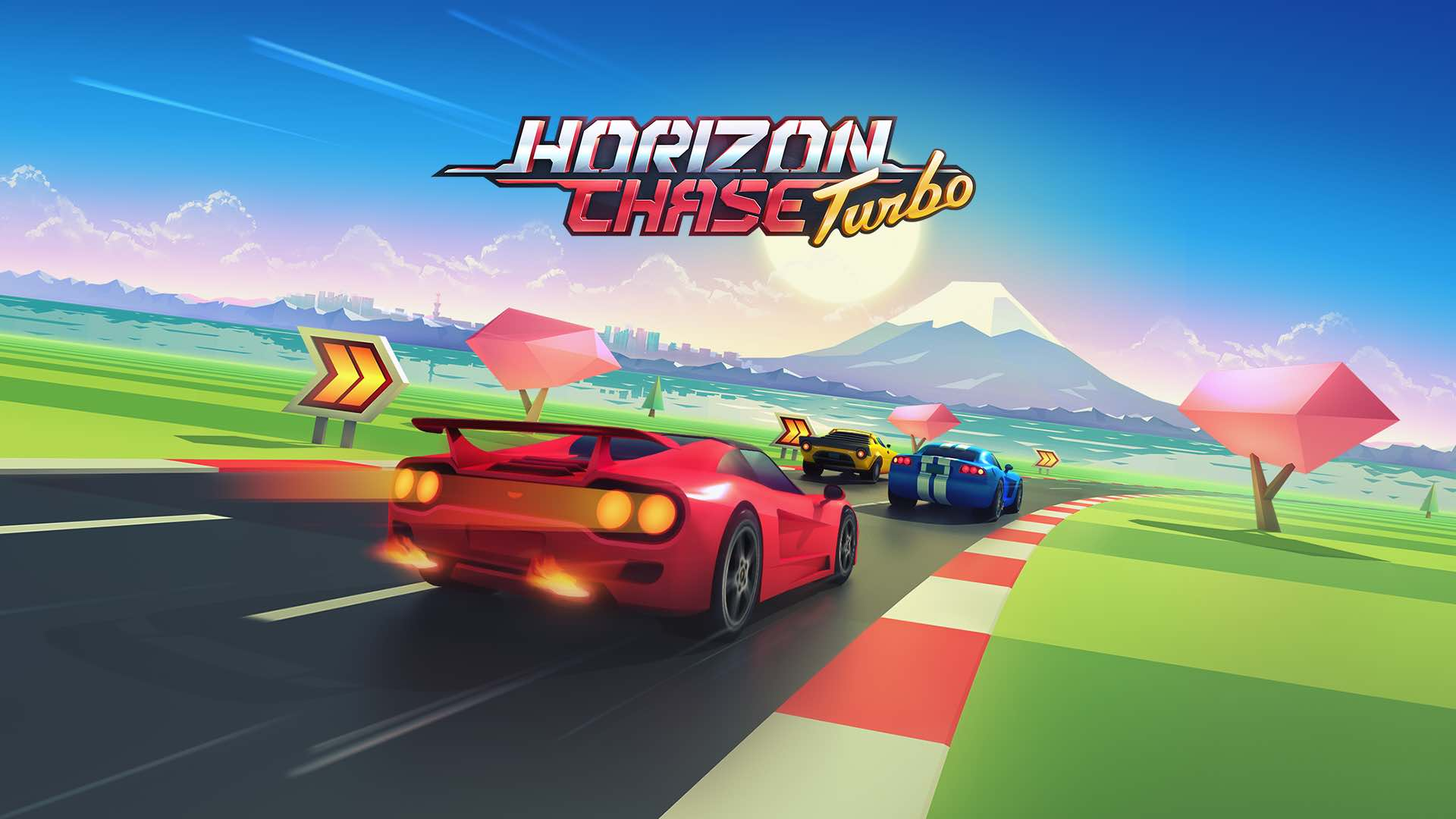 Gameplay de Horizon Chase Turbo