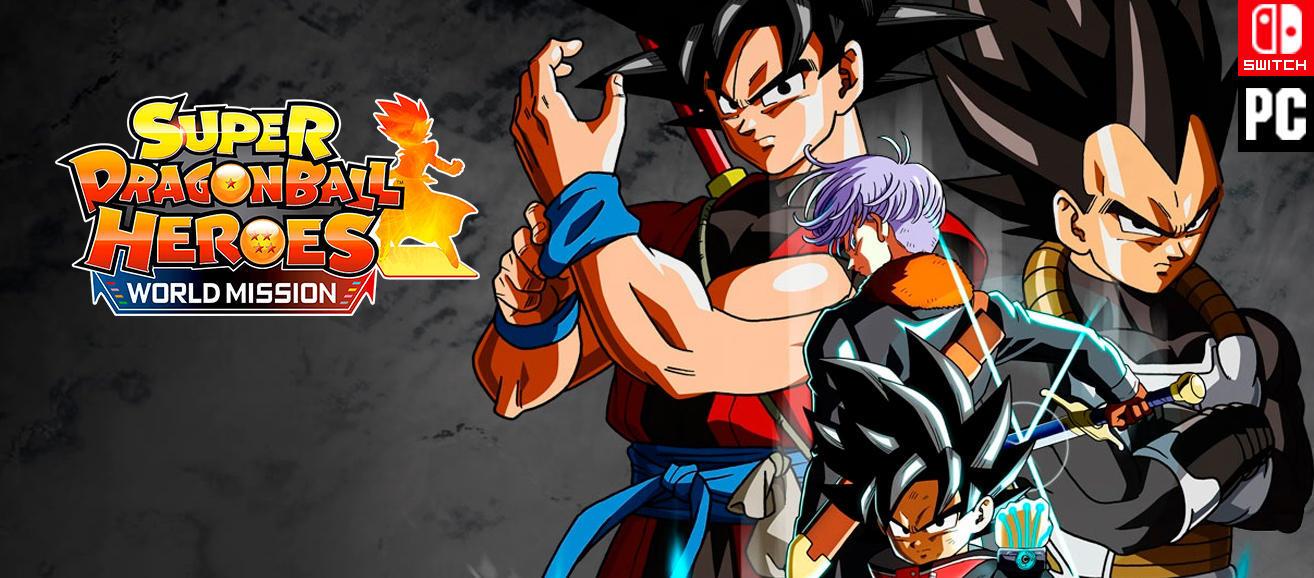 Vídeo Análisis de Super Dragon Ball Heroes World Mission