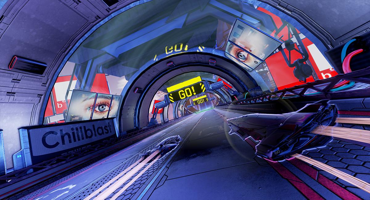 Trailer de Pacer, juego que carreras futuristas