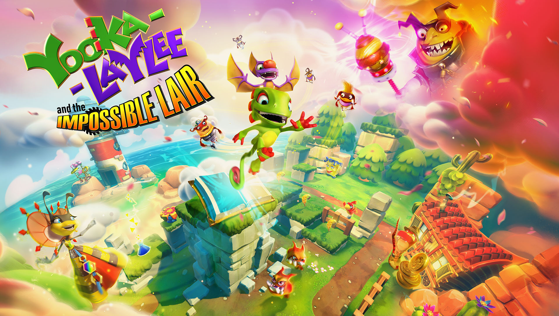 Trailer de Yooka Laylee and the Impossible Lair