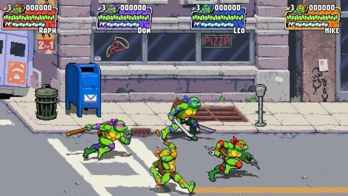 Teenage Mutant Ninja Turtles: Shredder's Revenge gameplay