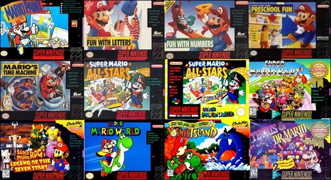 Videos VHS de Super Nintendo